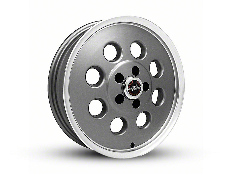 Race Star 82 Pro-Lite Metallic Gray Wheel - 17x4.5 (05-14 All, Excluding 13-14 GT500)