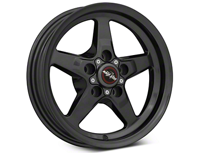 Race Star 92 Drag Star Bracket Racer Metallic Gray Wheel - 15x3.75 (05-10 GT, V6)