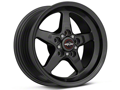 Race Star 92 Drag Star Bracket Racer Metallic Gray Wheel - 15x8 (05-14 All, Excluding 13-14 GT500)