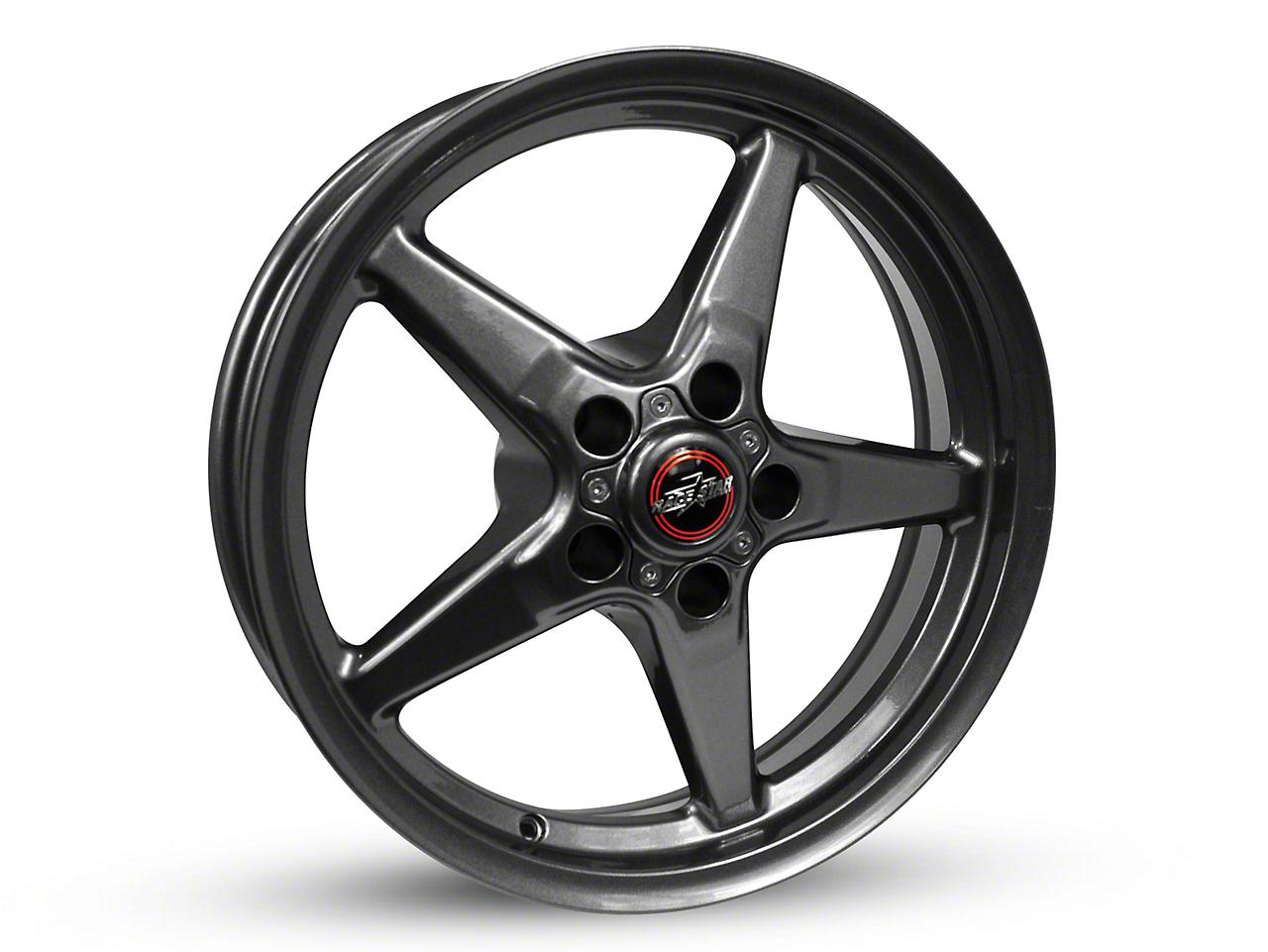 Race Star 92 Drag Star Bracket Racer Metallic Gray Wheel - 15x8 (87-93 w/ 5 Lug Conversion)