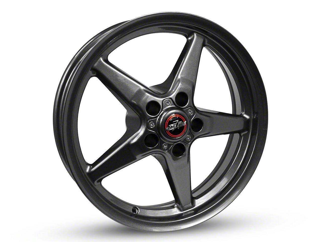 Race Star 92 Drag Star Bracket Racer Metallic Gray Wheel - 15x8 (94-04 GT, V6)