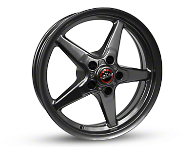 Race Star 92 Drag Star Bracket Racer Metallic Gray Wheel - 17x4.5 (05-14 All, Excluding 13-14 GT500)