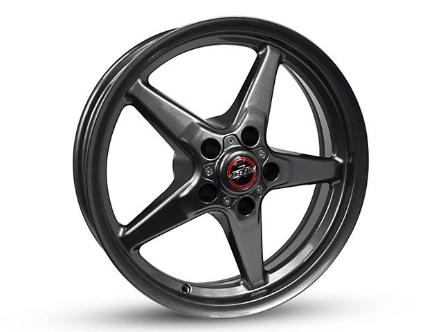 Race Star 92 Drag Star Bracket Racer Metallic Gray Wheel - 17x4.5 (87-93 w/ 5 Lug Conversion)