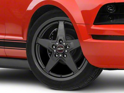 Race Star 92 Drag Star Bracket Racer Metallic Gray Wheel - 17x7 - Front Only (05-14 All, Excluding 13-14 GT500)