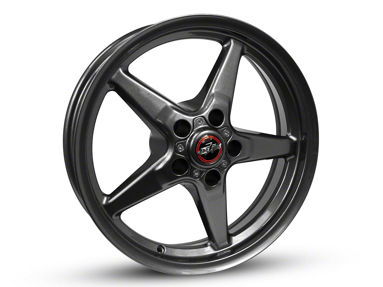 Race Star 92 Drag Star Bracket Racer Metallic Gray Wheel - 17x7 (87-93 w/ 5 Lug Conversion)