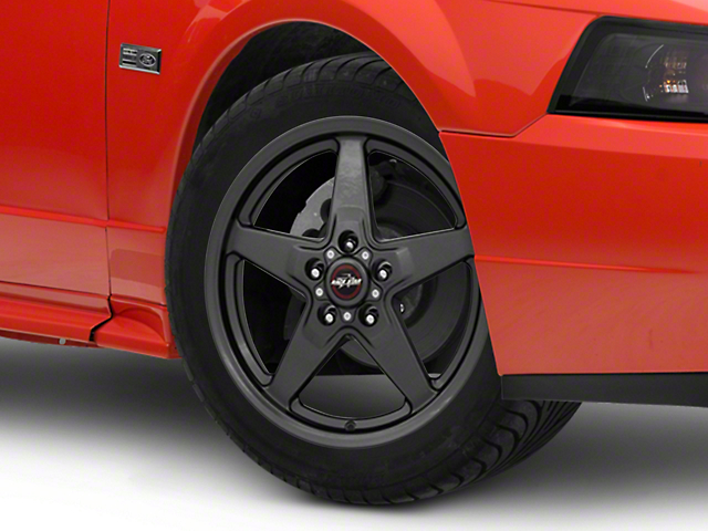 Race Star 92 Drag Star Bracket Racer Metallic Gray Wheel; 17x7 (99-04 All)