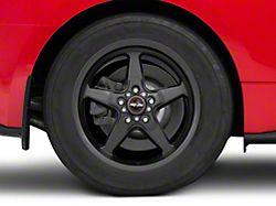 Race Star 92 Drag Star Bracket Racer Metallic Gray Wheel - 17x9.5 - Rear Only (15-19 GT, EcoBoost, V6)
