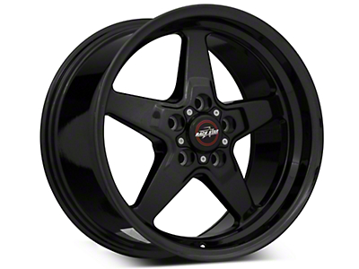 Race Star 92 Drag Star Black Chrome Wheel - Direct Drill - 17x9.5 (87-93 w/ 5 Lug Conversion)
