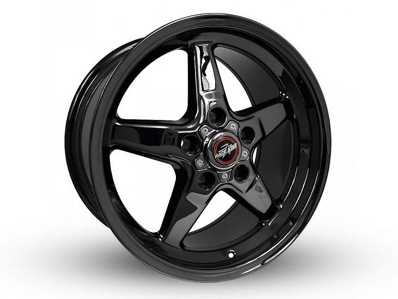 Race Star 92 Drag Star Black Chrome Wheel - Direct Drill - 17x9.5 (94-04 All)