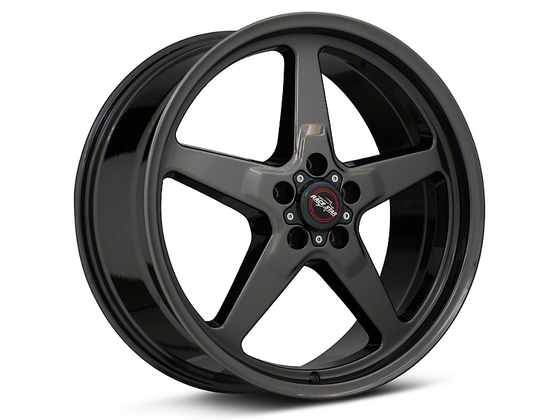 Race Star 92 Drag Star Dark Star Black Chrome Wheel - Direct Drill - 20x9 (05-14 All)