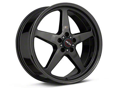 Race Star 92 Drag Star Dark Star Black Chrome Wheel - Direct Drill - 20x9 (05-14 All)
