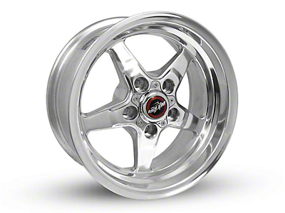 Race Star 92 Drag Star Polished Wheel - Direct Drill - 15x7 (87-93 w/ 5 Lug Conversion)
