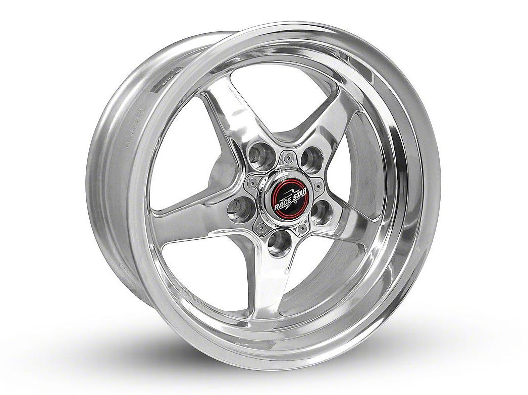 Race Star 92 Drag Star Polished Wheel - Direct Drill - 15x7 (94-04 GT, V6)