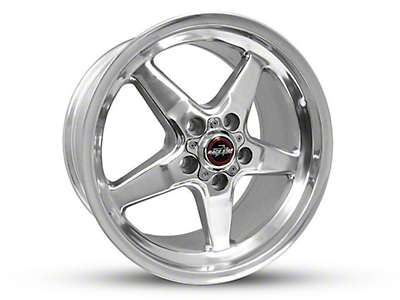 Race Star 92 Drag Star Polished Wheel - Direct Drill - 17x10.5 (15-18 GT, EcoBoost, V6)