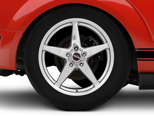 Race Star 92 Drag Star Polished Wheel - Direct Drill - 18x8.5 - Rear Only (05-09 All)
