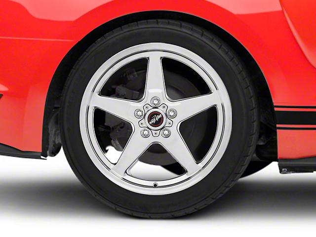 Race Star 92 Drag Star Polished Wheel - Direct Drill - 18x8.5 - Rear Only (15-19 GT, EcoBoost, V6)