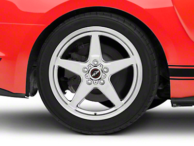 Race Star 92 Drag Star Polished Wheel - Direct Drill - 18x8.5 (15-19 GT, EcoBoost, V6)