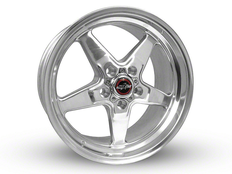 Race Star 92 Drag Star Polished Wheel - Direct Drill - 20x9 (15-19 GT, EcoBoost, V6)