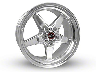 Race Star 92 Drag Star Polished Wheel - Direct Drill - 20x9 (15-18 GT, EcoBoost, V6)