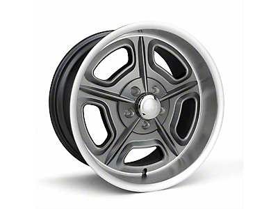 Race Star 32 Mirage Metallic Gray Wheel - 18x7 (87-93 w/ 5 Lug Conversion)