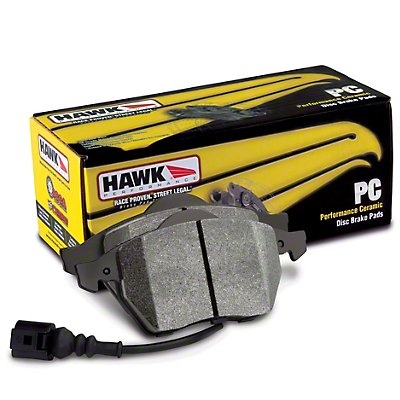 Hawk Performance Ceramic Brake Pads - Front Pair (2000 Cobra R)