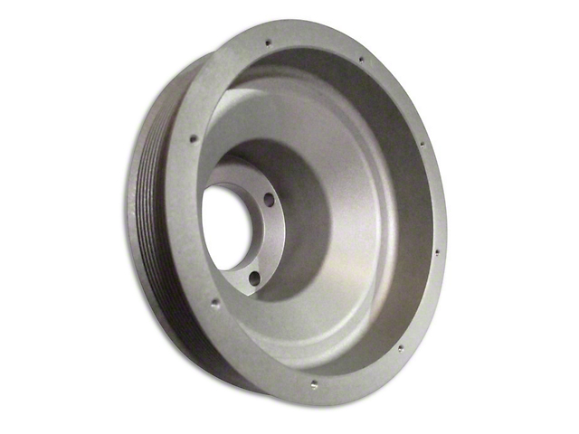 Vortech 10-Rib Serpentine Crank Pulley - 4.75 in./6.87 in. (86-93 5.0L)
