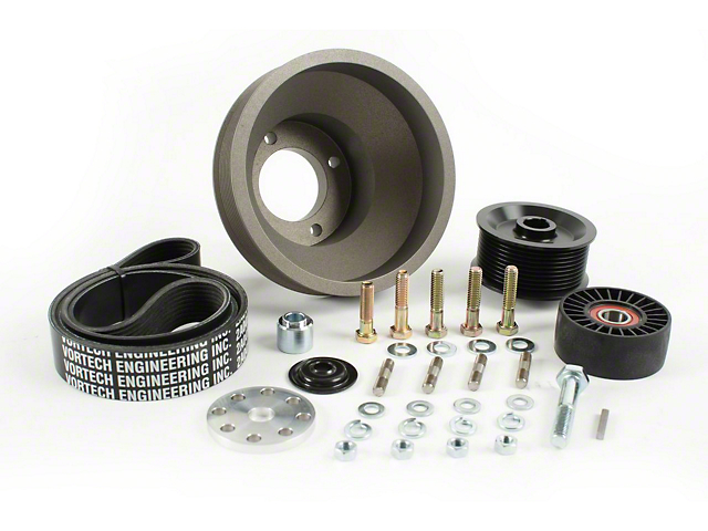 Vortech 10-Rib Underdrive Pulley Package (86-93 5.0L)