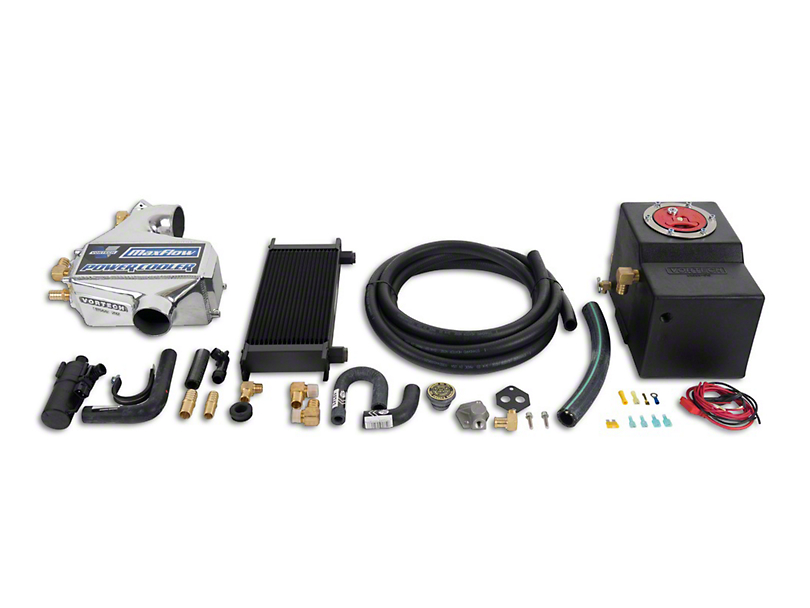 Vortech Air-to-Water Charge Cooler Upgrade Kit - Polished (86-93 5.0L)