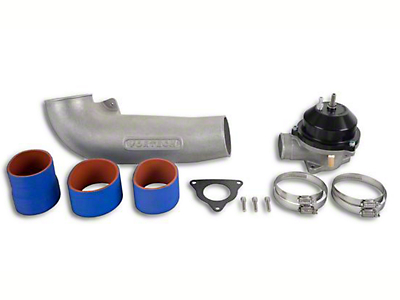 Vortech Race Discharge Assembly w/ Mondo Bypass Valve - Polished (86-93 5.0L)