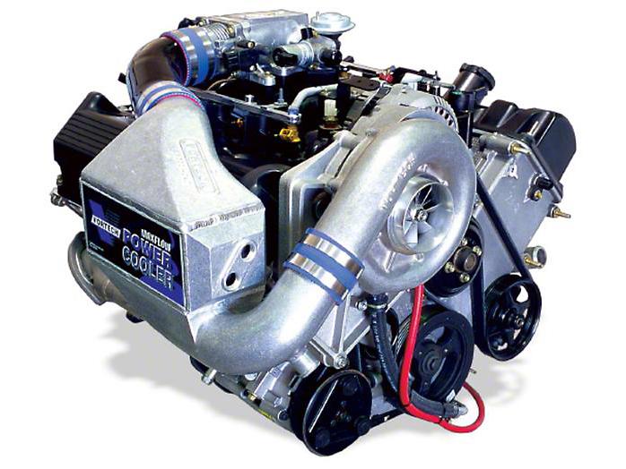 Vortech V-1 H/D Ti-Trim Supercharger Tuner Kit - Polished (99-04 GT)