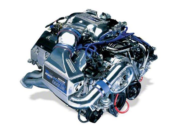 Vortech V-2 SCi-Trim Supercharger System - Tuner Kit - Polished (96-98 Cobra)
