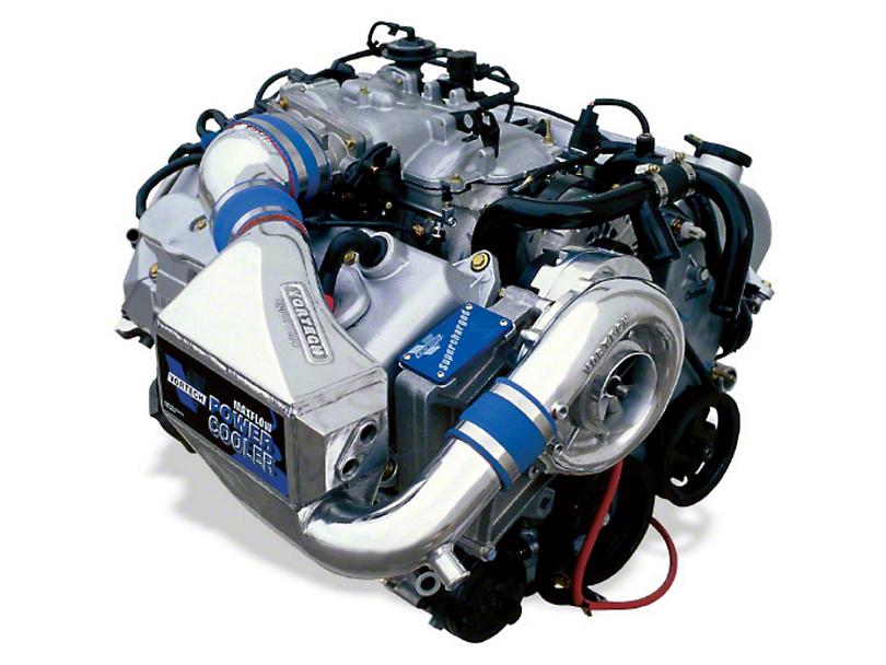 Vortech V-2 SCi-Trim Supercharger System w/ Charge Cooler - Tuner Kit - Polished (1999 Cobra)