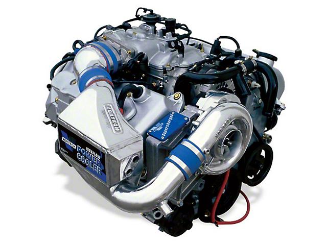 Vortech V-2 SCi-Trim Supercharger Tuner Kit w/ Charge Cooler - Polished (1999 Cobra)