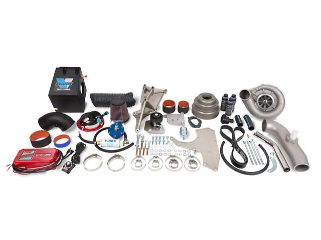 Vortech V-2 Si-Trim H.O. Supercharger w/ Charge Cooler - Complete Kit - Polished (86-93 5.0L)