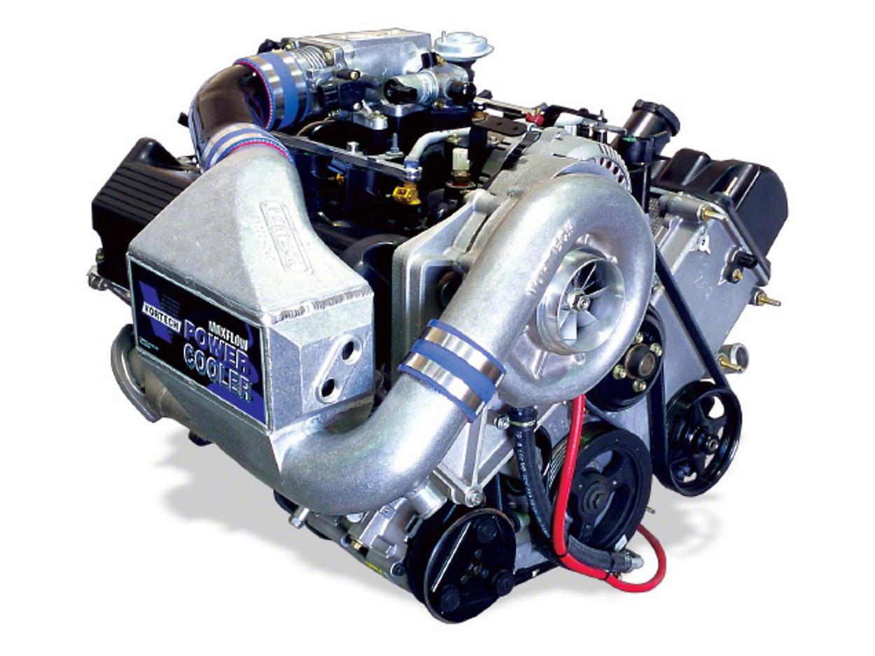 Vortech V-2 Si-Trim Supercharger System - Complete Kit - Polished (00-04 GT)