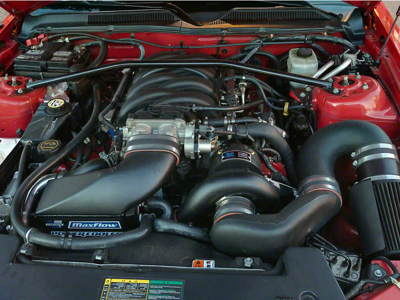 Vortech V-2 Si-Trim Supercharger System - Complete Kit - Polished (05-08 GT)