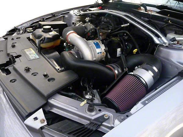 Vortech V-2 Si-Trim Supercharger System - Complete Kit - Polished (05-08 V6)