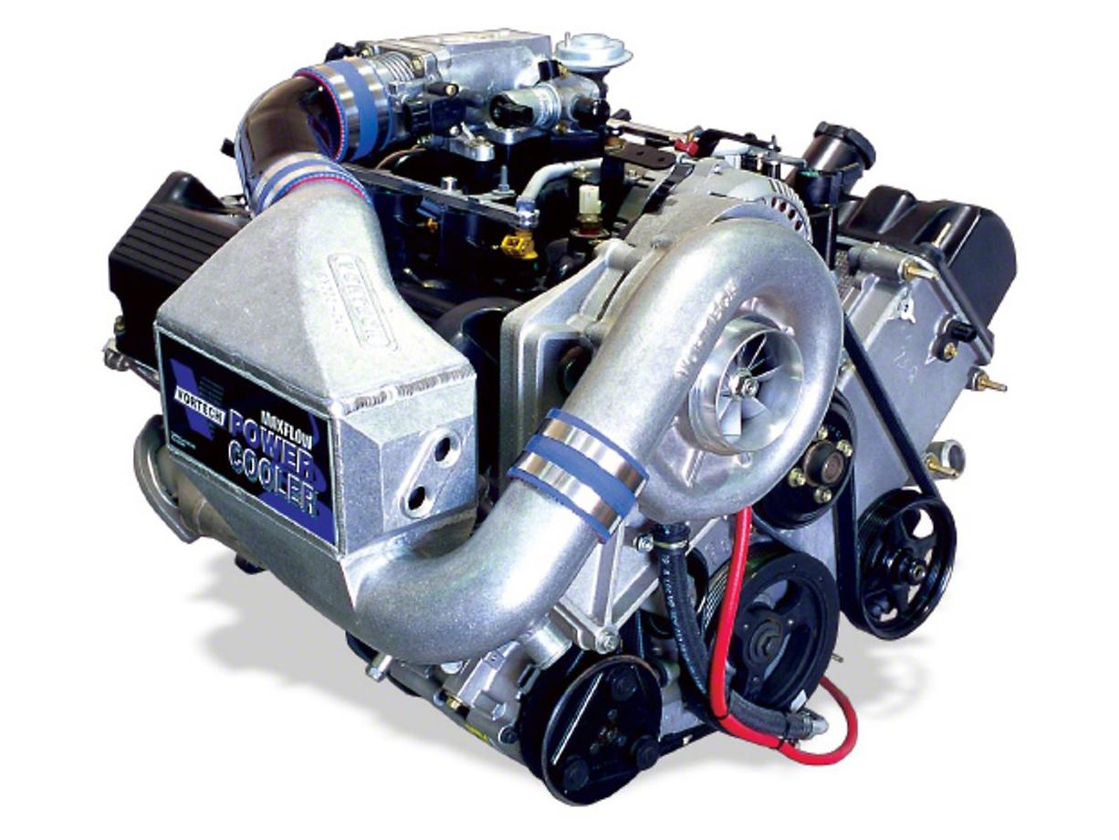 Vortech V-2 Si-Trim Supercharger System - Complete Kit - Satin (00-04 GT)
