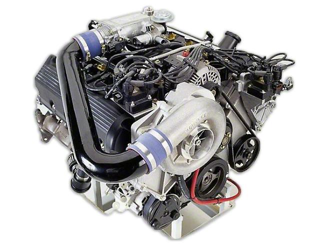 Vortech V-2 Si-Trim Supercharger Kit - Satin (96-98 GT)