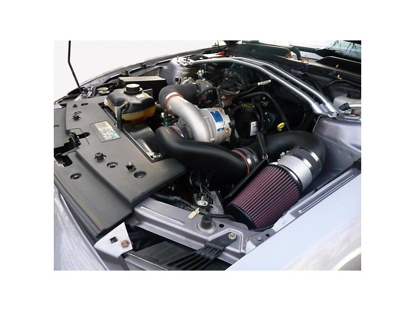 Vortech V-2 Si-Trim Supercharger System - Tuner Kit - Satin (05-09 V6)