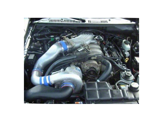 Vortech V-2 Si-Trim Supercharger Tuner Kit; Satin Finish (2001 Bullitt)