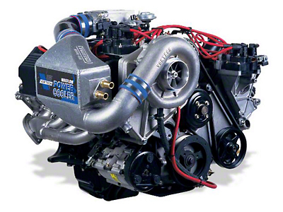 Vortech V-2 Si-Trim Supercharger System - Tuner Kit - Satin (96-98 GT)