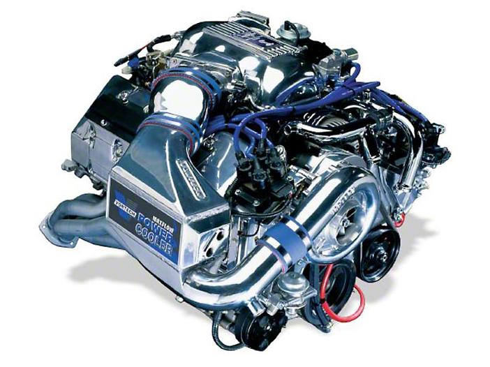 Vortech V-2 Si-Trim Supercharger Kit w/ Charge Cooler - Satin (96-97 Cobra)