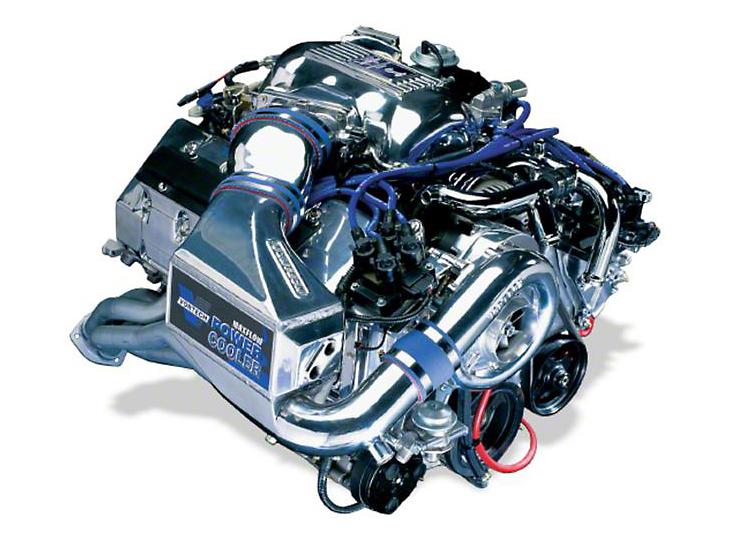 Vortech V-2 Si-Trim Supercharger System w/ Charge Cooler - Tuner Kit - Polished (96-98 Cobra)