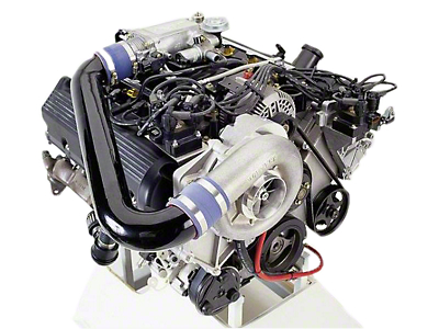 Vortech V-3 Si-Trim Supercharger Kit - Satin (1998 GT)