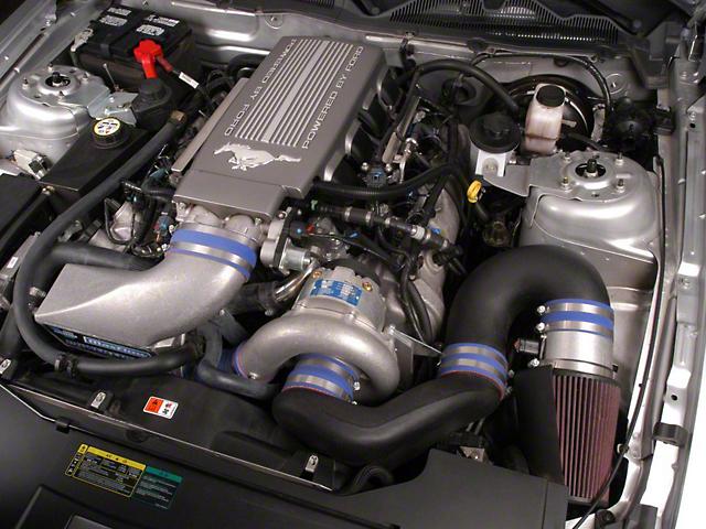 Vortech V-3 Si-Trim Supercharger System w/ Charge Cooler - Tuner Kit - Polished (2010 GT)
