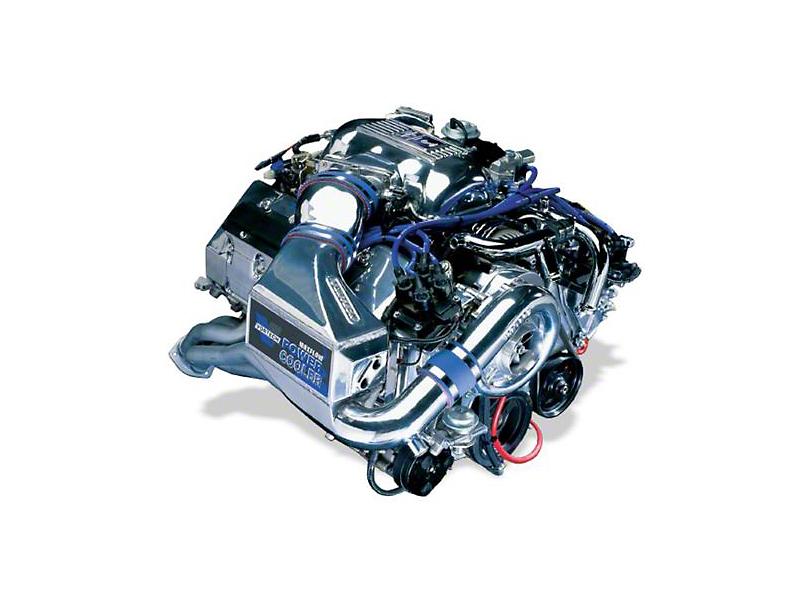 Vortech V-3 Si-Trim Supercharger Tuner Kit w/ Charge Cooler - Satin (96-98 Cobra)