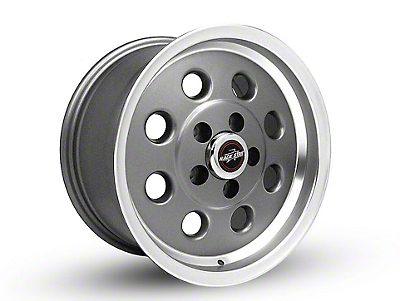 Race Star 82 Pro-Lite Metallic Gray Wheel - 15x10 (05-14 All, Excluding 13-14 GT500)