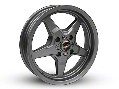 Race Star 91 Drag Star Black Chrome Wheel - 15x3.75 (87-93 All, Excluding Cobra)