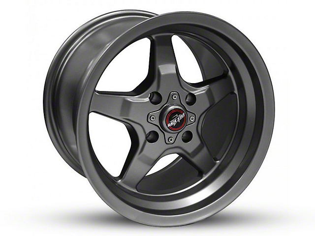 Race Star 91 Drag Star Black Chrome Wheel - 15x8 (87-93 All, Excluding Cobra)